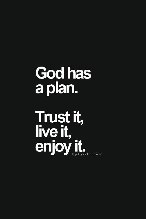God has a plan – Faith Image