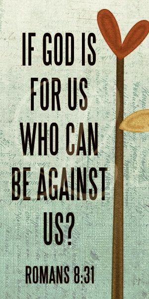 Romans 8:31 – Faith Image