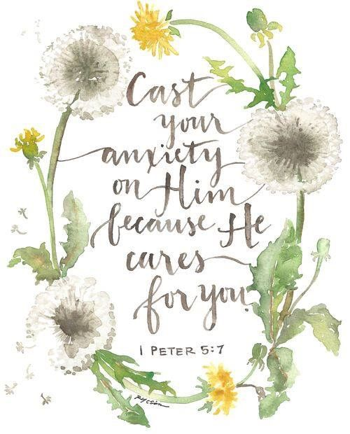 1 Peter 5:7 – Faith Image