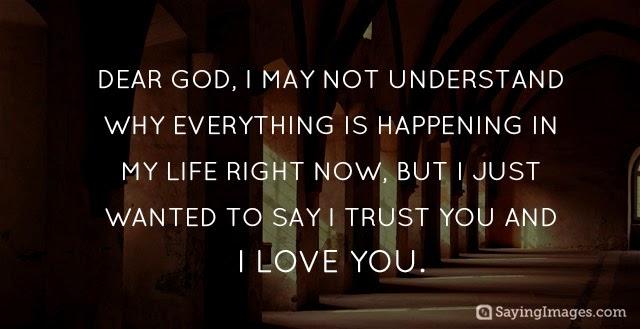 Trust God Faith Image Custom Trust In God Quotes