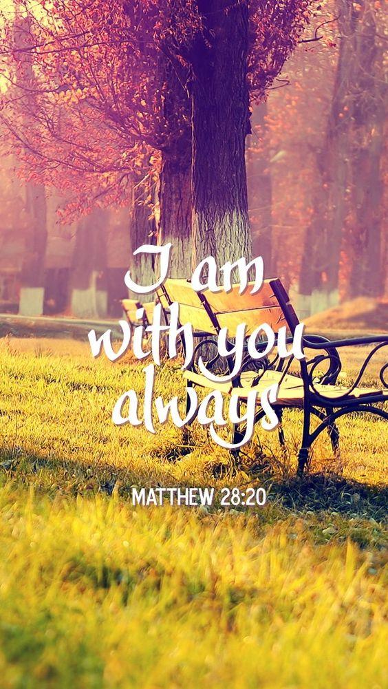 I Am With You Always Faith Image